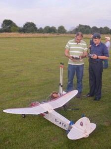 Our RC training aircraft, built & flown by cadets on the SQN.